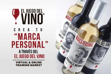 El Juego del vino – Crea tu marca personal