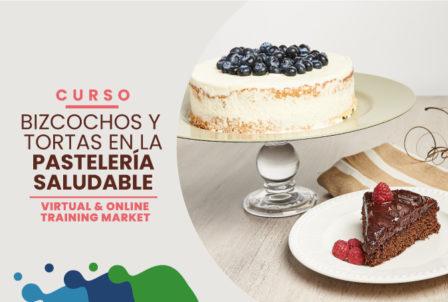 Curso 3: Bizcochos y tortas en la pastelería saludable
