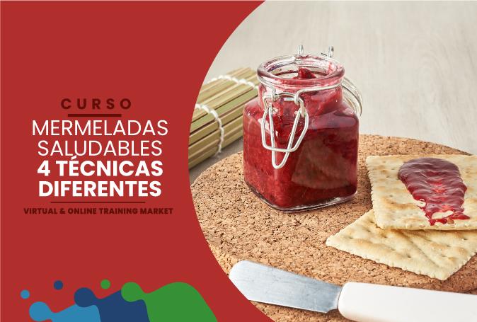 MERMELADAS SALUDABLES 4 TÉCNICAS DIFERENTES