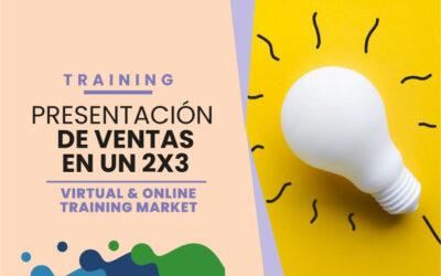 ¡Presentaciones de ventas en un 2×3!